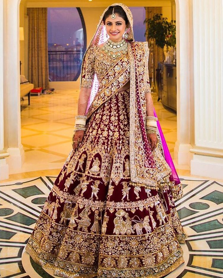 Manish Malhotra Collection Wedding Dress Inspiration Brida