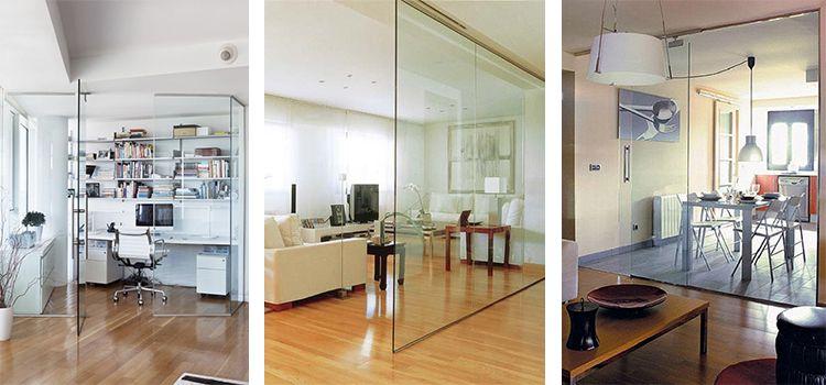 Paredes de cristal para pisos pequeños - Grupo Mapesa | Materiales ...