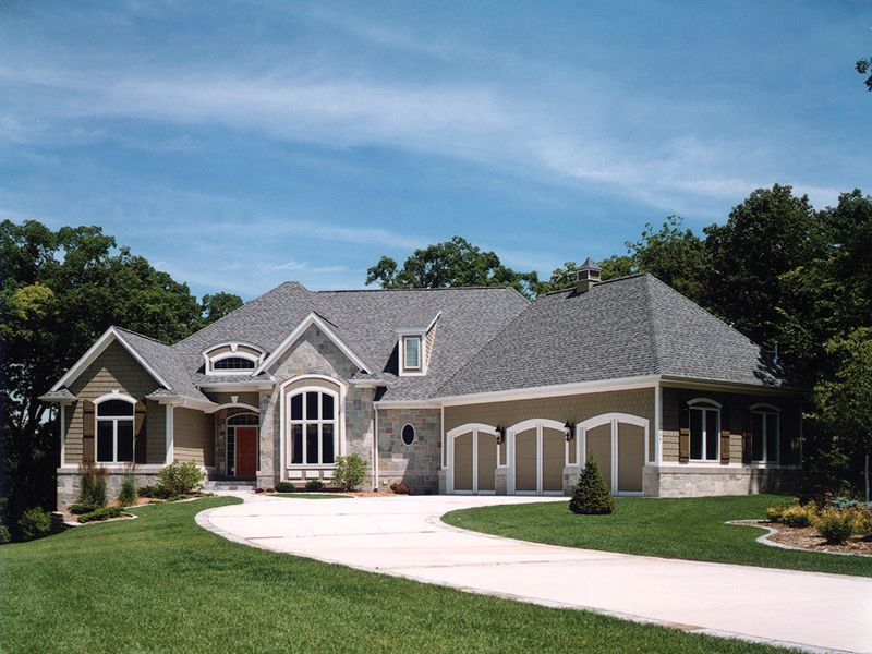 Sanderson Manor Luxury Home French Country House Plans
