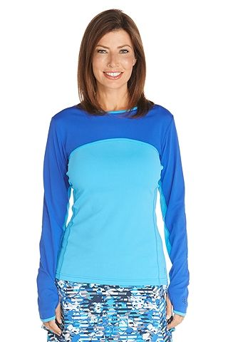 60ee9dcf5a Convertible Swim Shirt - Shop Womens UPF Swimwear - Coolibar : Sun  Protective Clothing - Coolibar