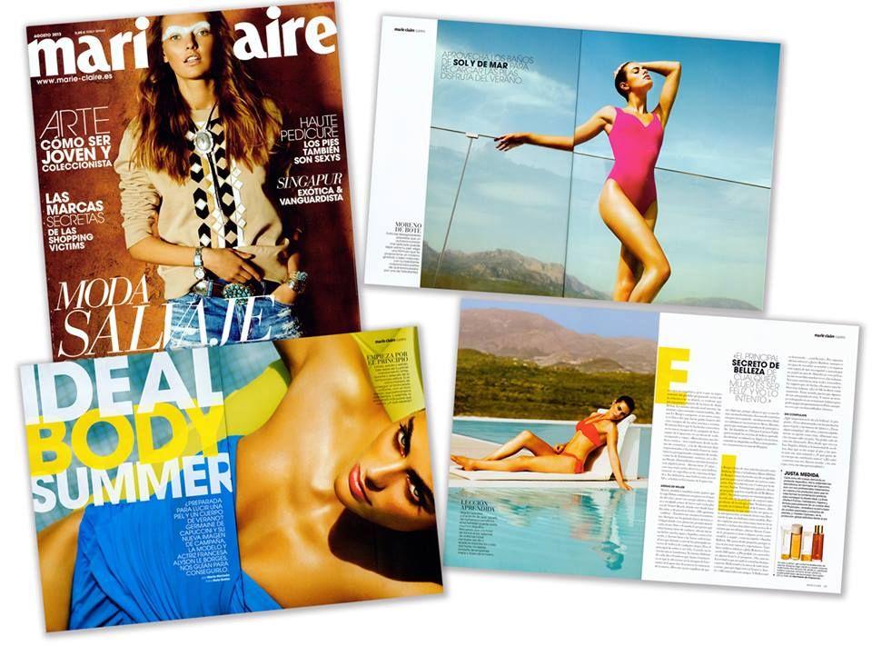 Impresionante reportaje el que nos dedica la revista Marie Claire con fotografías de nuestra nueva musa Alyson Le Borges realizadas en las maravillosas instalaciones del Sha Wellness Clinic. http://www.shawellnessclinic.com/