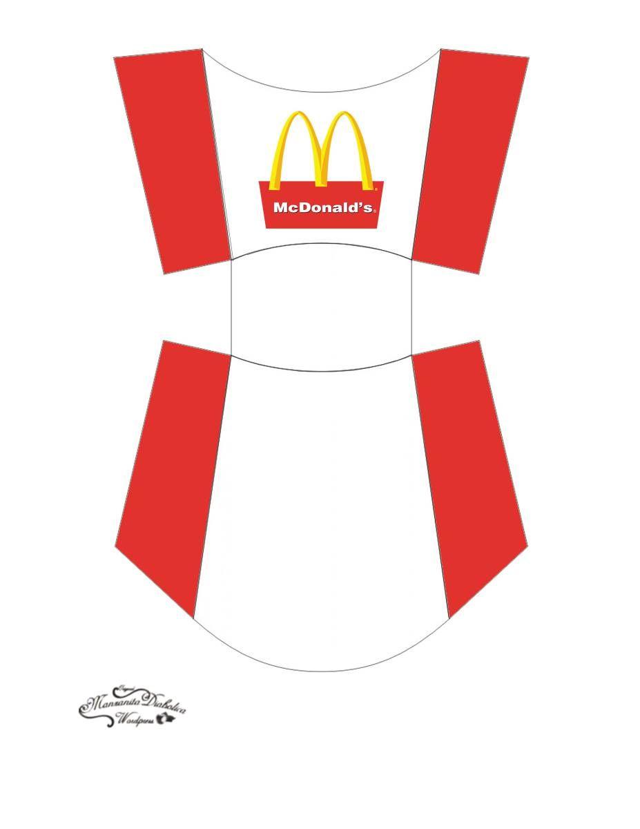 Cajita papas fritas imprimibles fiesta mcdonalds - La cajita manualidades ...