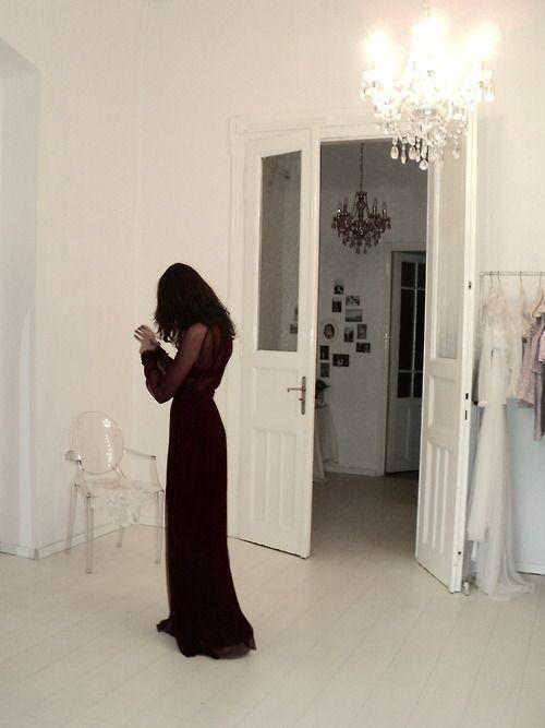Beauty in the showroom. Nora Sarman