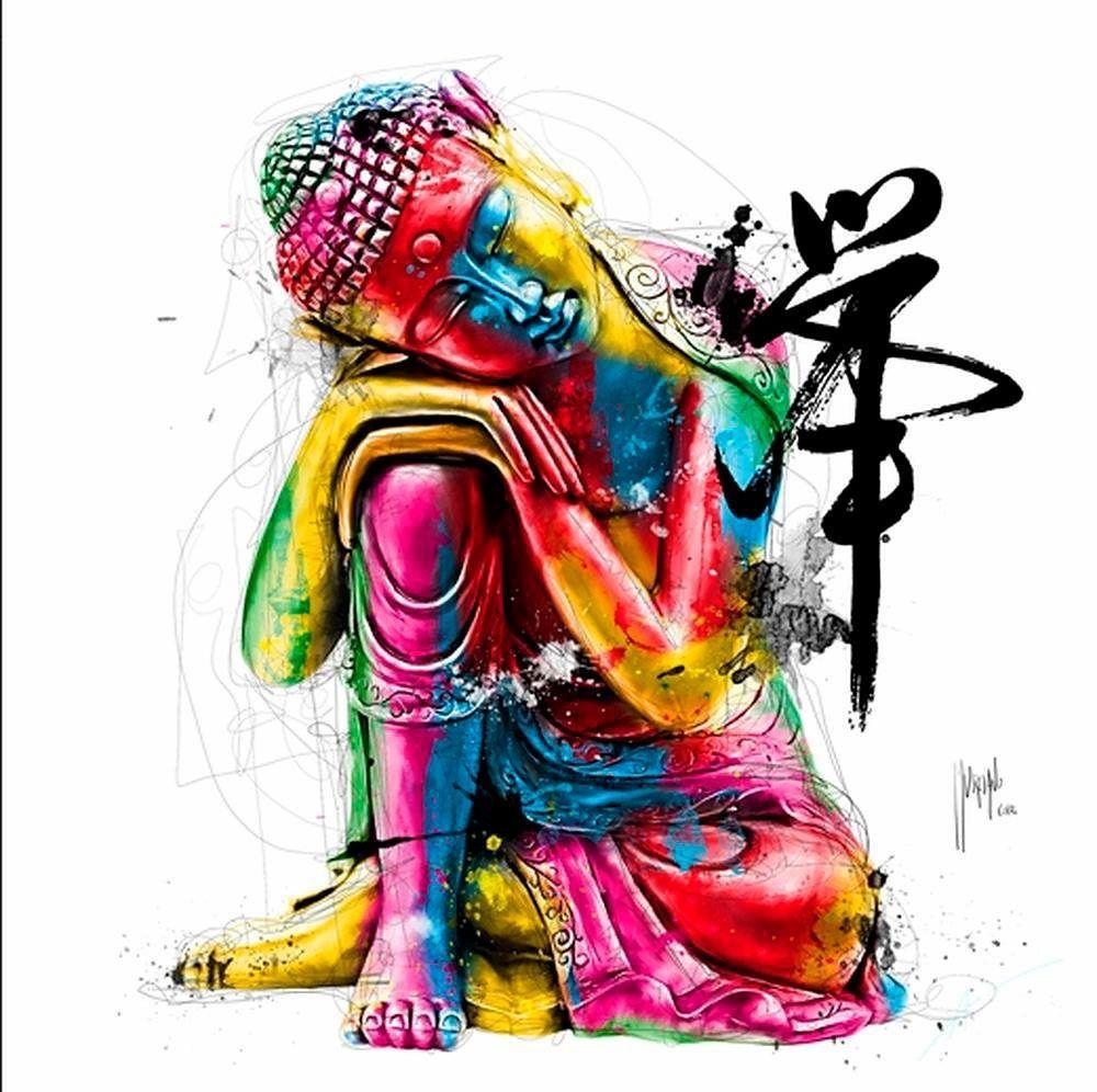Home affaire bunt, (B/H): 70/70cm, »Buddha« Jetzt bestellen unter ...