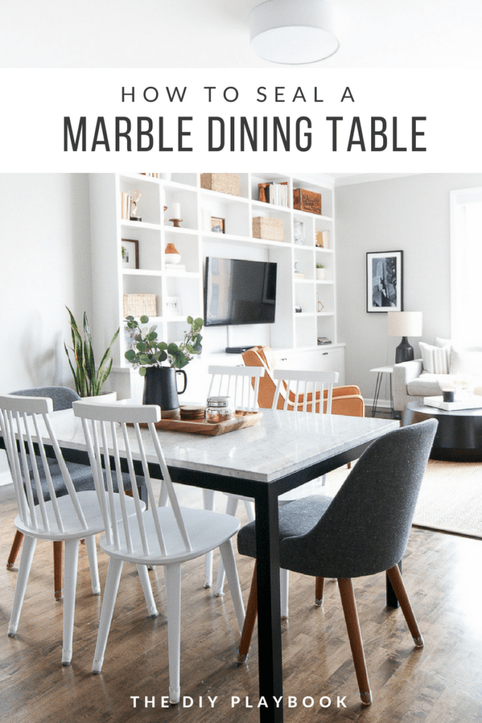 How To Seal A Marble Table The Right Way The Diy Playbook Dining Room Table Marble Diy Dining Room Table Dining Table Decor Everyday