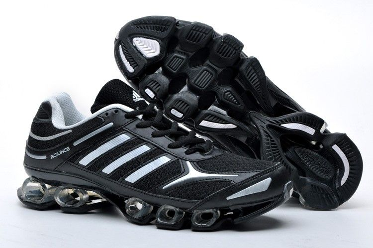 Tenis Adidas Bounce Mens Black Silver Running Shoes adidas original Regular  Price: $175.00 Special Price