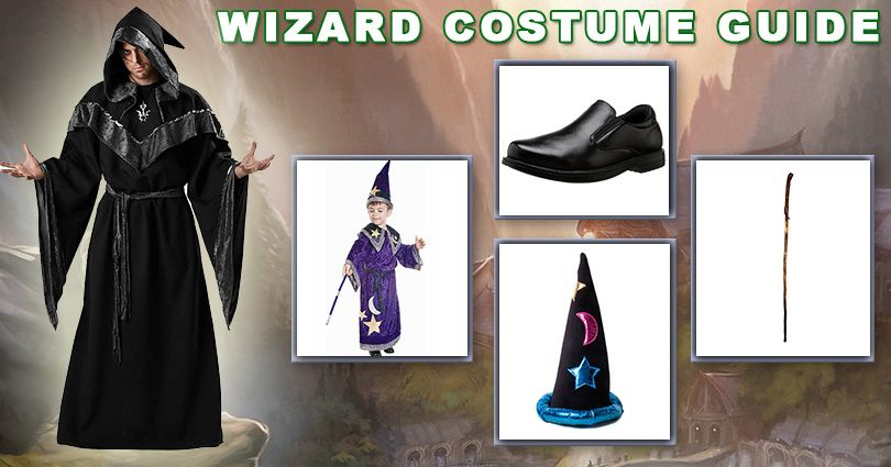 Wizard Costume Idea for Halloween | Cosplay Costume Ideas ...