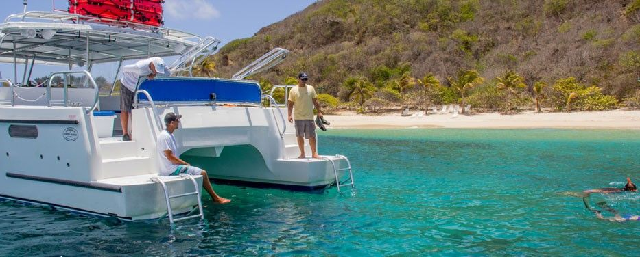 St Thomas Full Day Private Power Catamaran Charter Join Us On Our