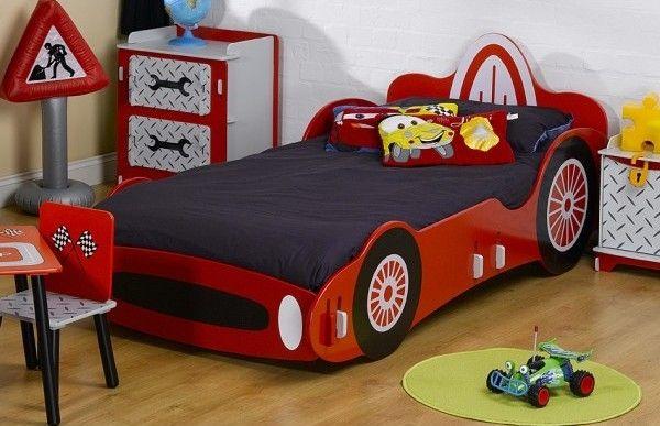 Kids Racing Car Single Size Bed Kids Bedroom Designs Cars Bedroom Set Kids Car Bed