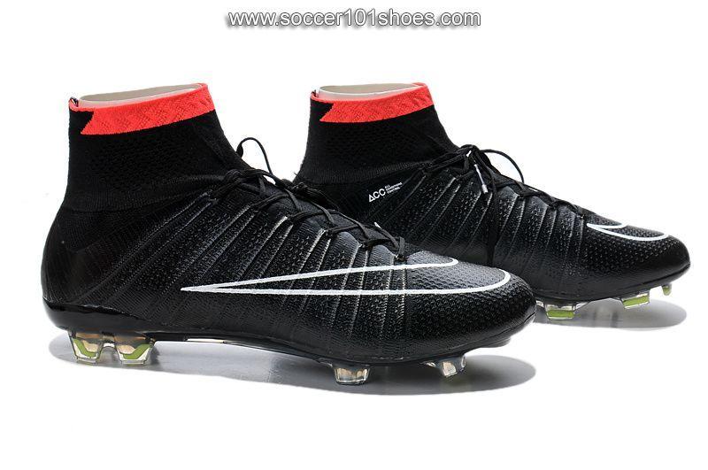 92205c16785 Nike Men s Mercurial Superfly FG Hi Top Football Boot Soccer Cleat Red  Black   77.00