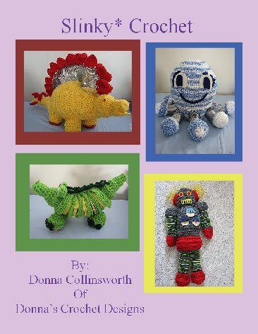 Free Slinky Crochet Pattern E-Book Fun and funky crochet patterns with a slinky incorporated into it!