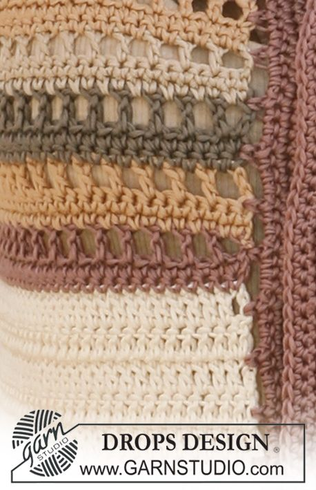 Patrón gratuito de ganchillo | patchwork | Pinterest | Ganchillo ...