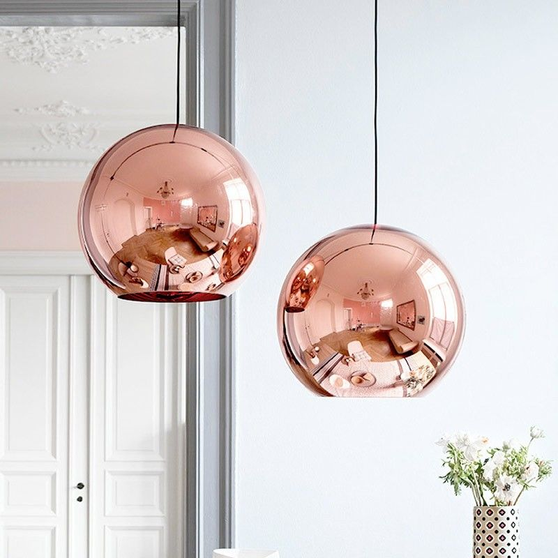 Nell Copper Pendant Light Shade (D)280mm | Pendant lighting, Lights ...