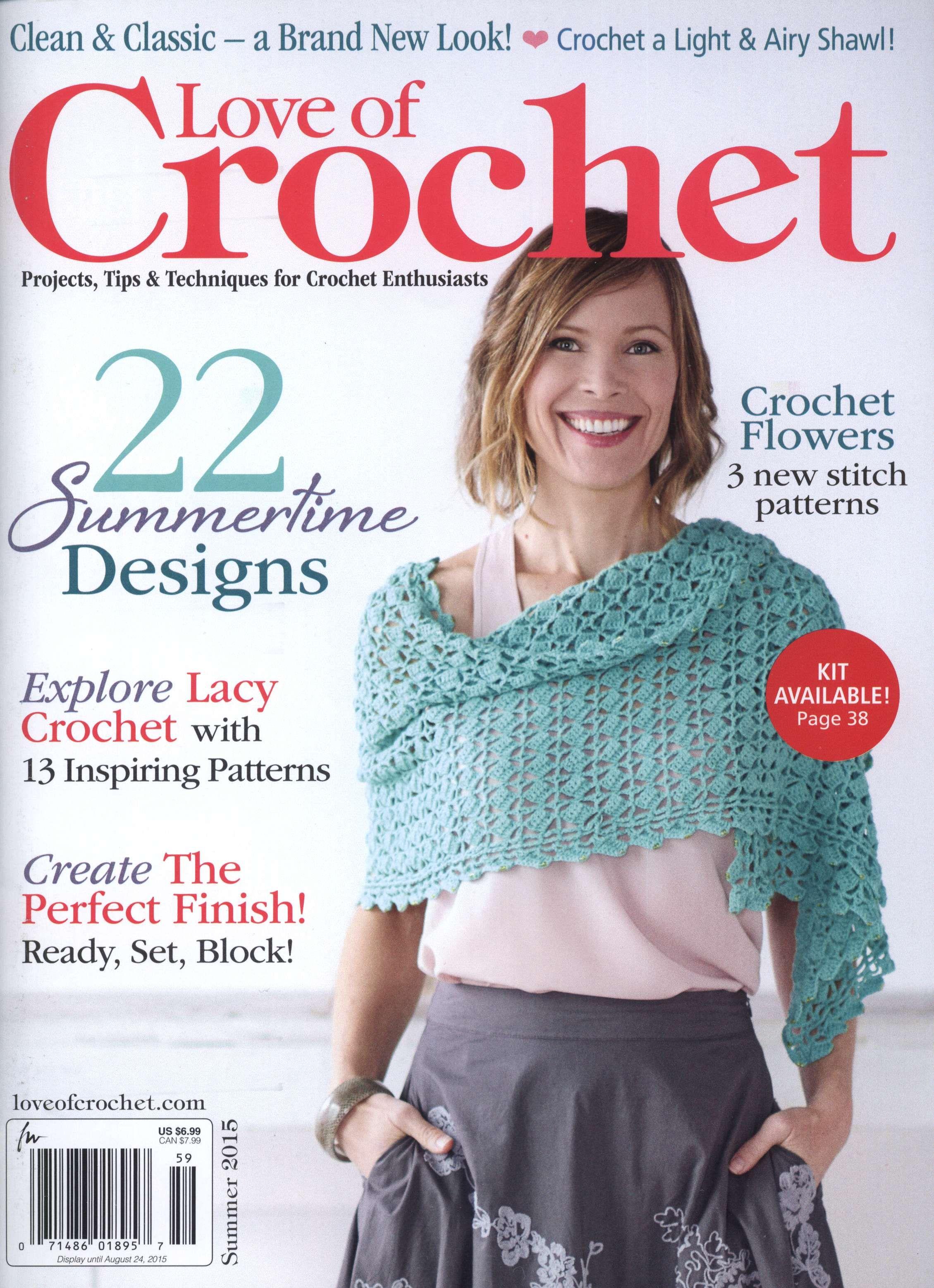 Love of Crochet August 2015