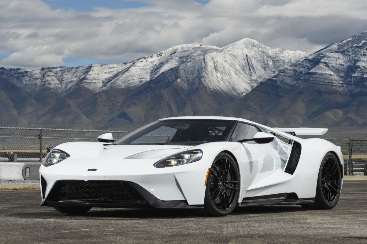 Ford Gt In Track Mode