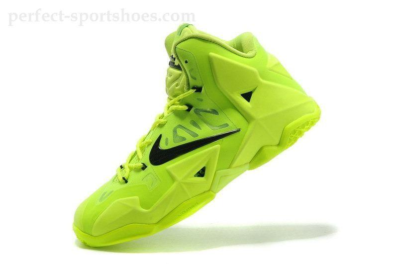 Cheap-Nike-Lebron-11-Lime-Green-Black-616175-