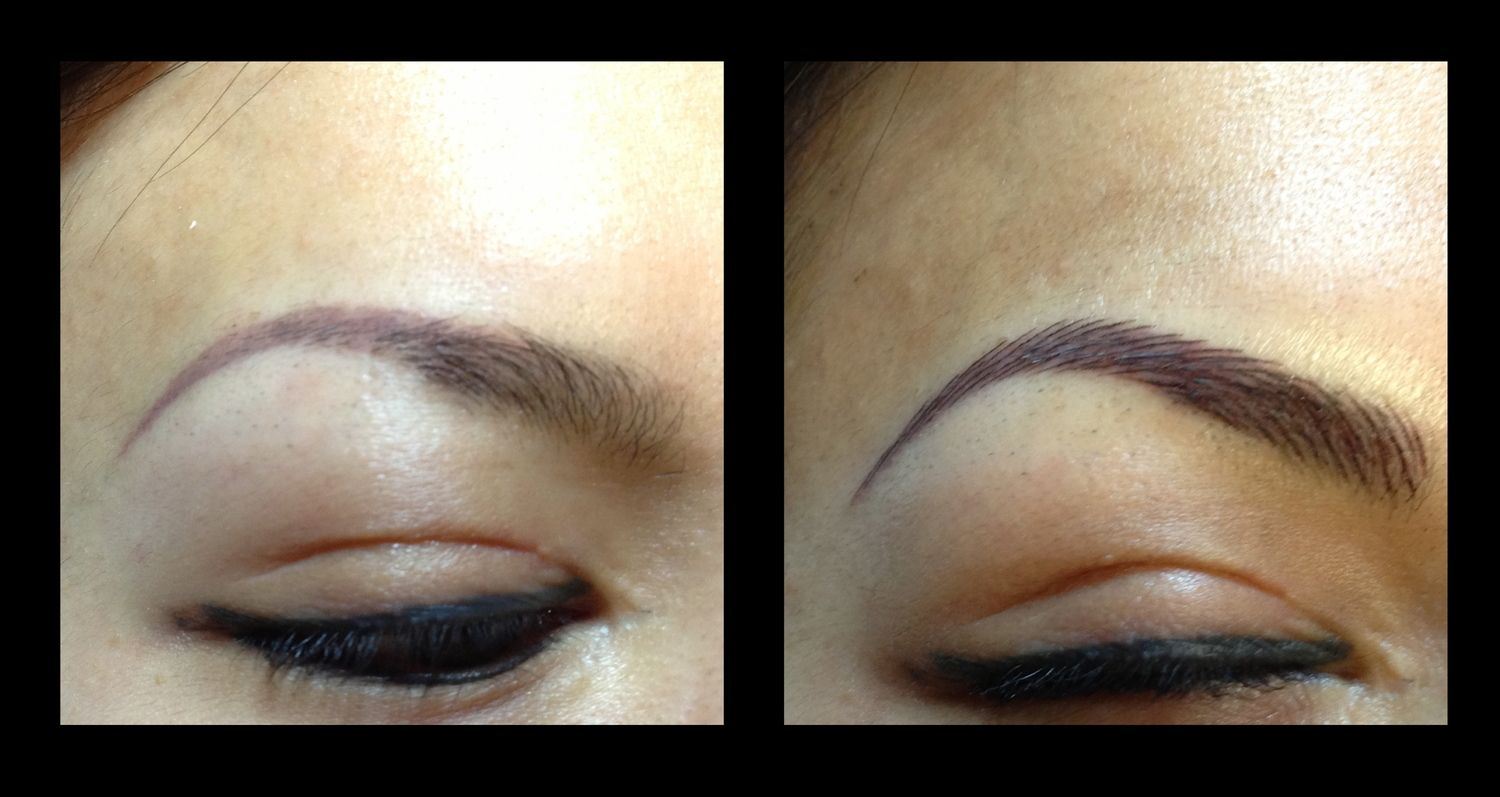 16. Before / After (With images)   Permanent makeup ...