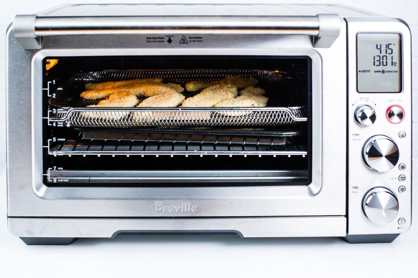 Crispy Air Fryer Chicken Tenders Recipe Recipe Nuwave Oven Recipes Air Recipe Toaster Oven Recipes