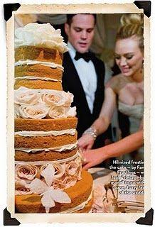 hilary duff wedding cake | Vows | Pinterest | Hilary duff, Wedding ...