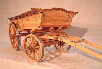 Scale Model English Farm Wagons Barge Wagon With Images
