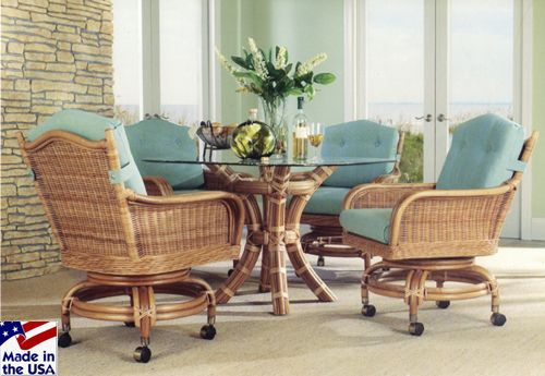 Rattan & Wicker Furniture Made In The Usachoose From Living Room New Wicker Dining Room Sets Review
