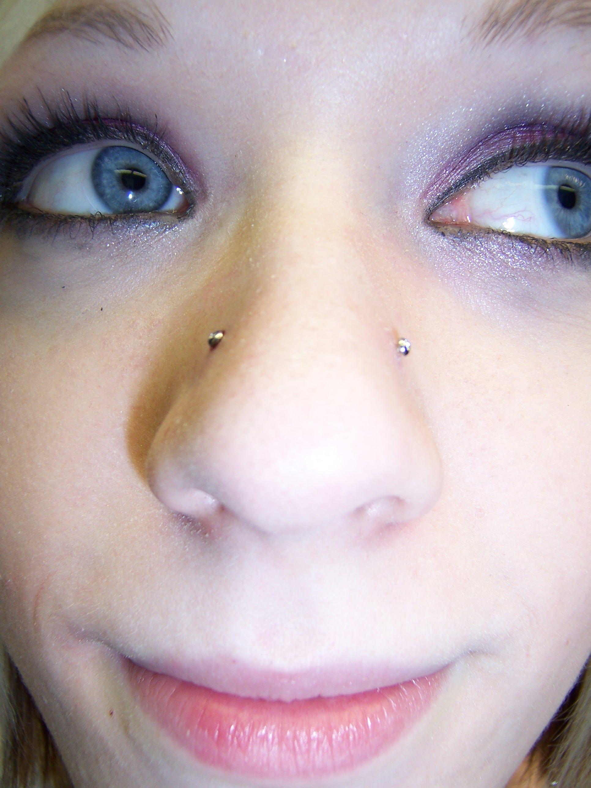 High up nose piercing  I uc high nostrils  Holes I create  Pinterest  Piercings