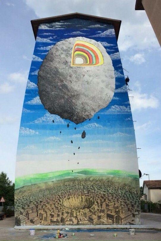 #streetart #street #art #murales #blu #blustreetartist #campobasso #italy #italiastreetart