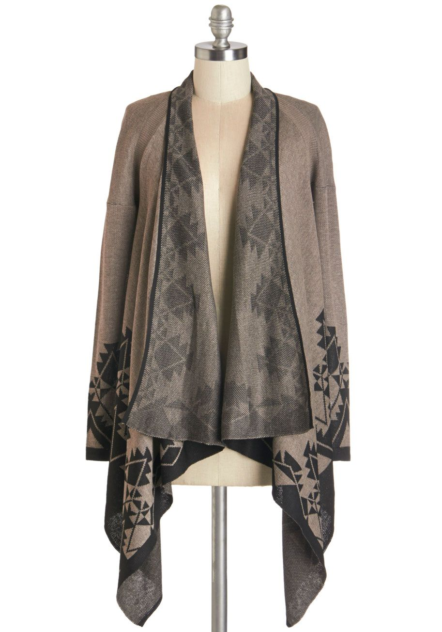 Library, Secondary, Tertiary Cardigan in Topaz | ModCloth