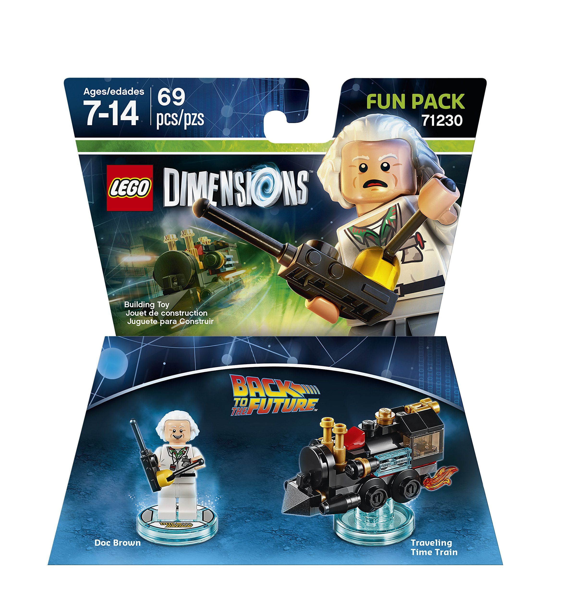 Amazon.com: Games Back to the Future Doc Brown Fun Pack - LEGO ...