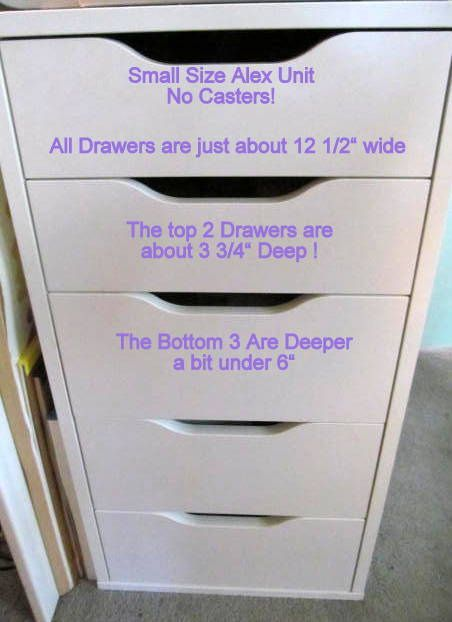 Alex Drawer Dimensions Google Search Ikea Craft Storage Craft Storage Furniture Ikea Crafts