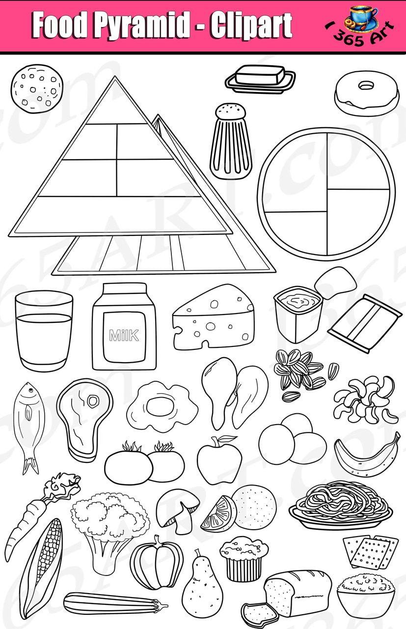 Kid S Food Pyramid Clipart Set In 2021 Food Pyramid Food Pyramid Kids Kids Meals [ 1280 x 827 Pixel ]