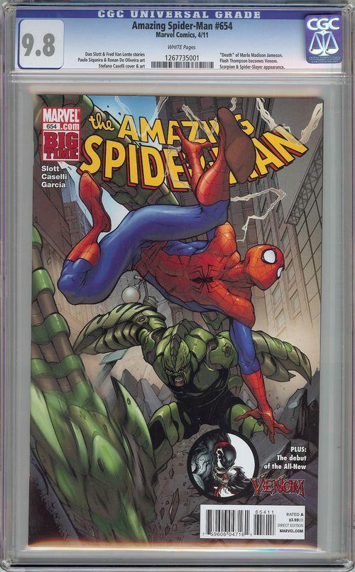 Amazing Spider-Man #654 CGC 9.8