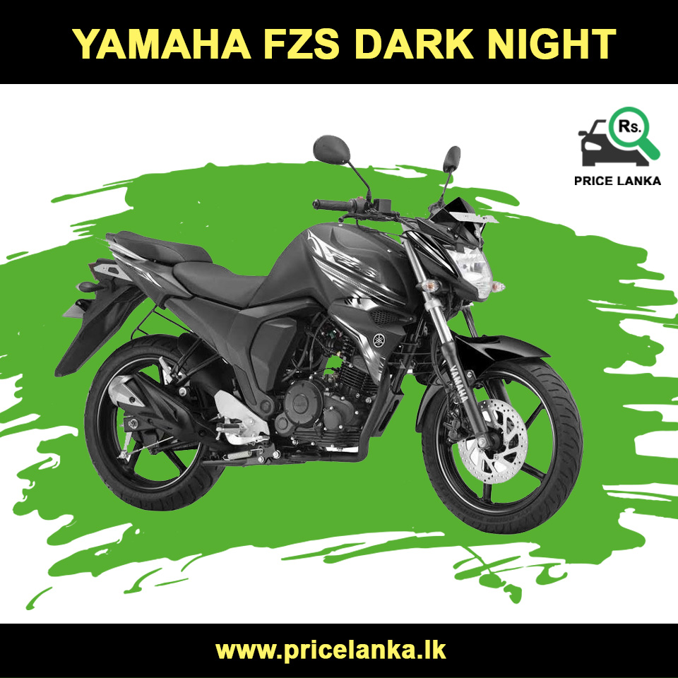 Yamaha Fzs Dark Night Price In Sri Lanka Yamaha Dark Night