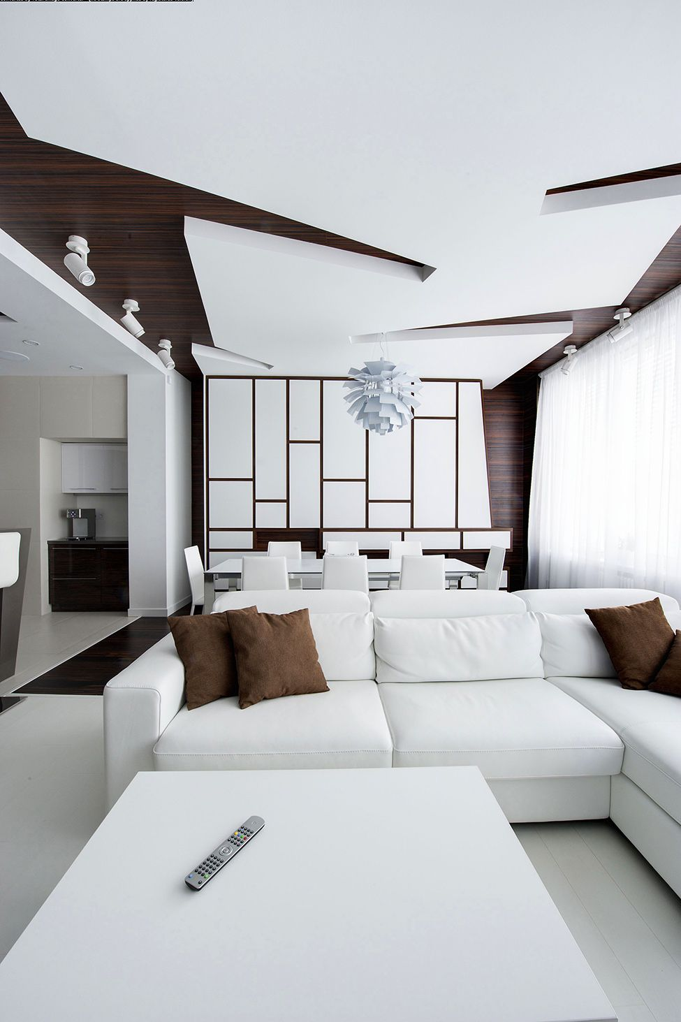 Dramatic All White Renovated Apartment