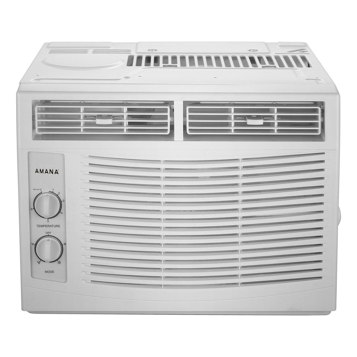 Amana 5 000 Btu Window Mounted Air Conditioner With Mechanical Controls White Products In 2019 Window Air Conditioner Installation Window Air Conditioner Small Window Air Conditioner