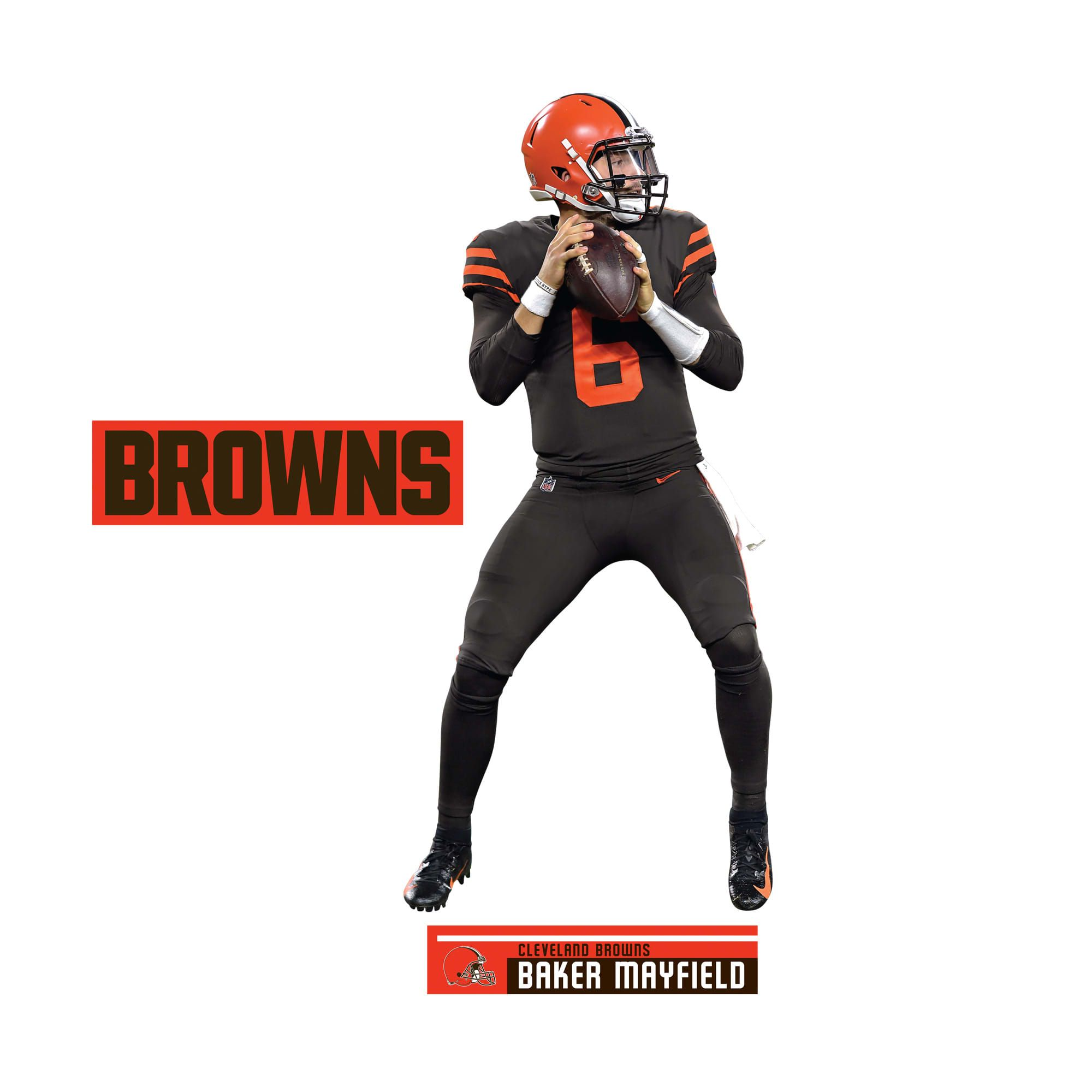 online store 9be3d 2681d Baker Mayfield: Color Rush - Life-Size Officially Licensed ...