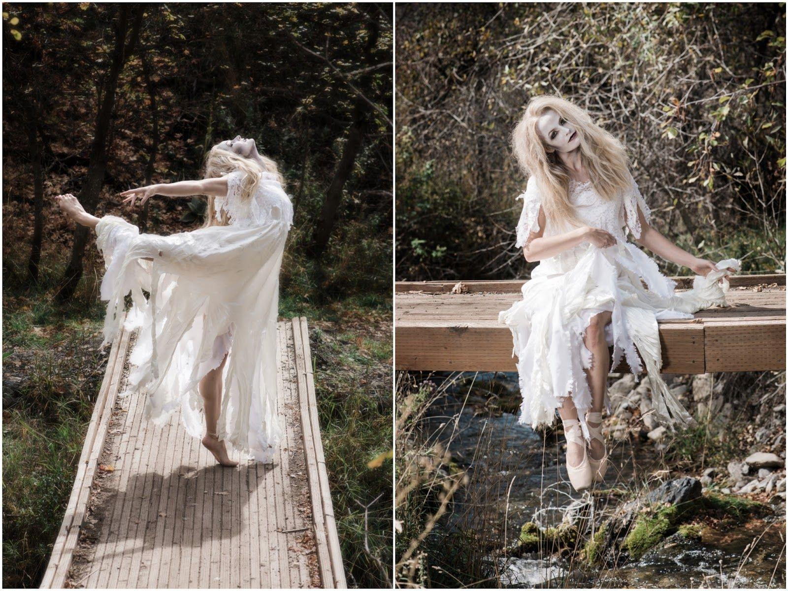 Photography: Shanda Lynn Call Syna Harris' beauty blog: Halloween Inspired Ghost Makeup