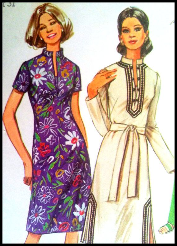 I have this one! Simplicity 9256 Misses' Dress Or Tunic Pants