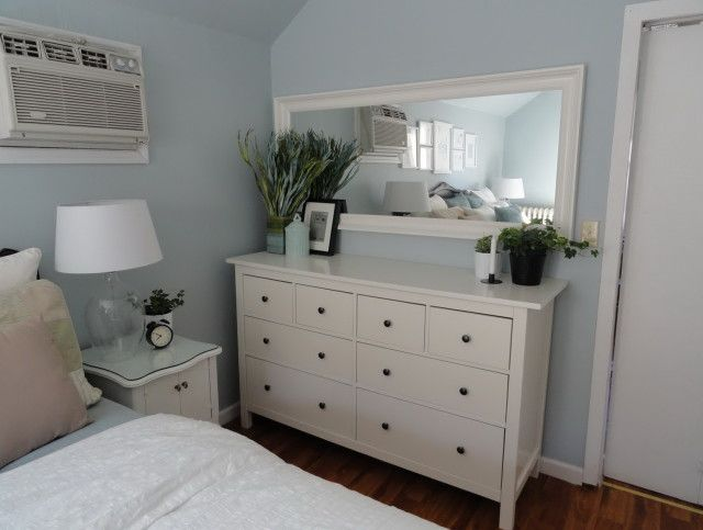 Hemnes Dresser And Mirror Farmhouse Style Bedroom Decor Remodel