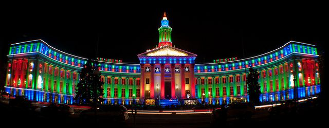 Denver City, Holiday Lights