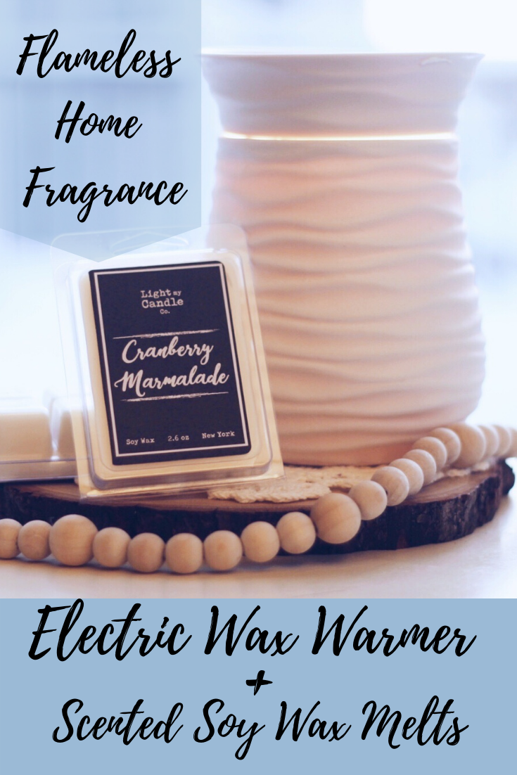Wax Warmer Electric Melter Edison Bulb Farmhouse Soy Tarts Melts Candle Plug In Electric Tart