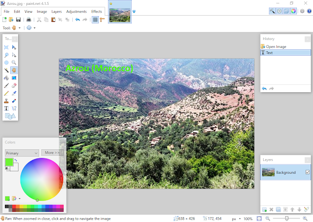 تحميل برنامج Paint Net 4 1 5 Painting Art Screenshots
