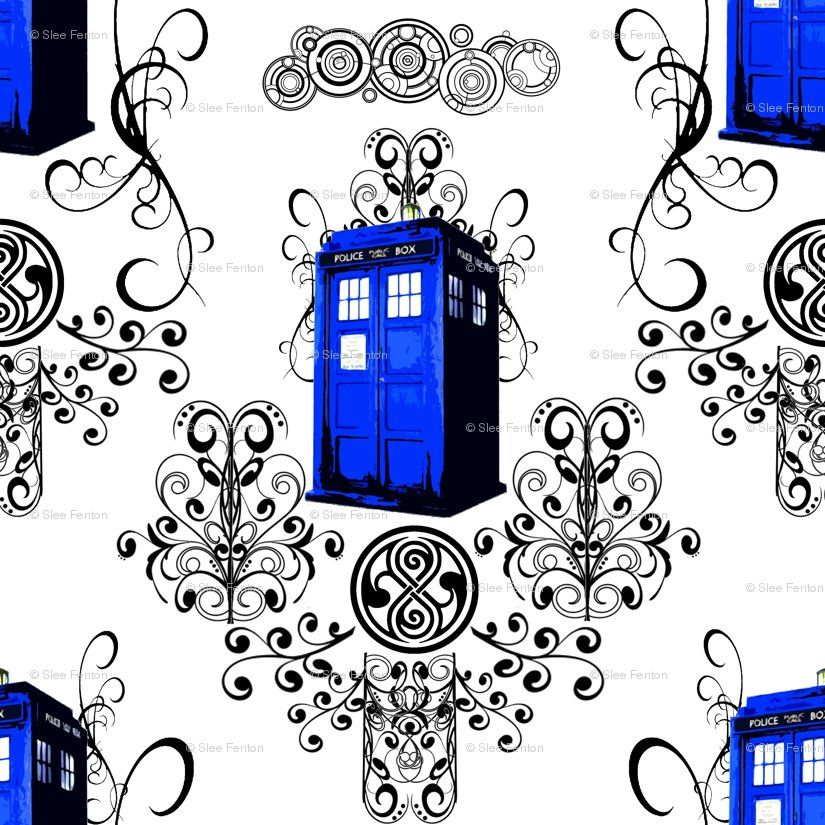 More Doctor Who Fabric Sewing Diy With Images Tardis