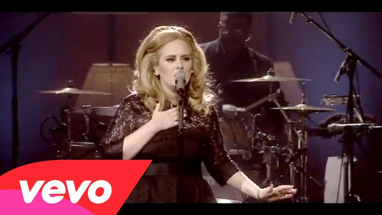Adele Set Fire To The Rain Live At The Royal Albert Hall To