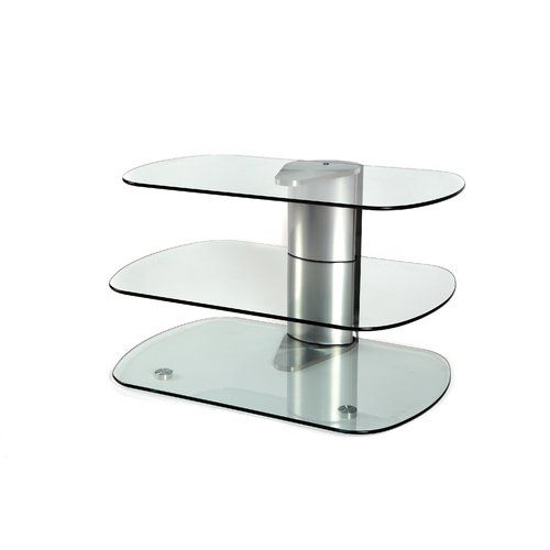 Tiya Tv Stand For Tvs Up To 55 Metro Lane Glass Tv Stand Flat Screen Tv Stand Curved Glass