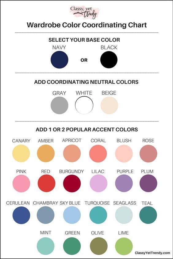 Color Palette: Fall Capsule Wardrobe | Wardrobes, Capsule Wardrobe And Fall  Capsule Wardrobe