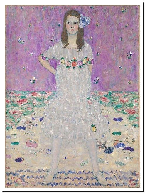 Mäda Primavesi (1903–2000) Gustav Klimt (Austrian, Baumgarten 1862–1918 Vienna) Date: 1912 Medium: Oil on canvas