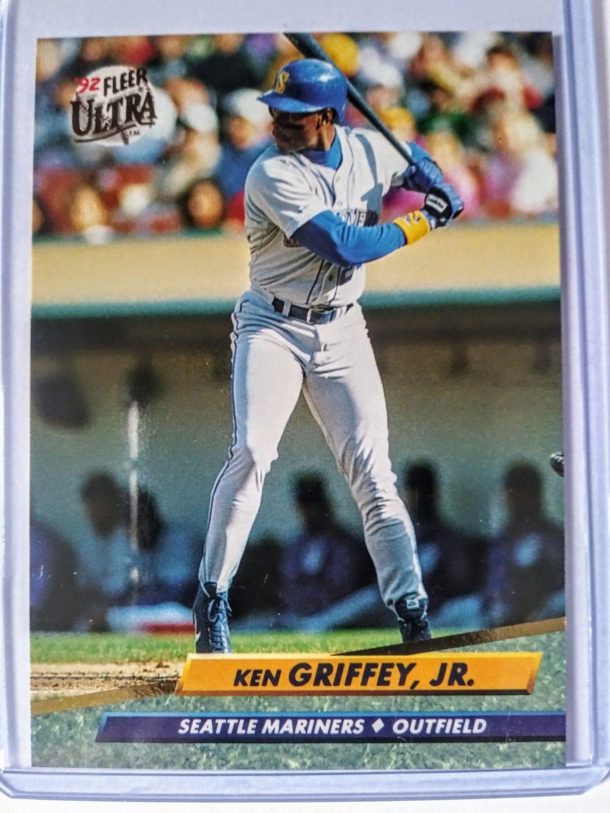 1991 Fleer Ultra Ken Griffey Jr card mint condition Ken
