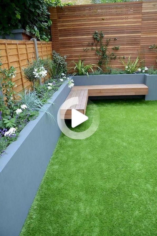 Inspirational Small Garden Design Layout Backyards Patio Ideas | Garde