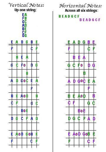 Vertical Guitar Neck Diagram Auto Wiring Diagram Today